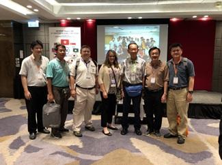 ASHRAE President, Shiela J Heyter ให้เกียรติถ่ายรูปร่วมกับทีม Thailand Chapter ที่ไปร่วมงาน